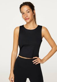 OYSHO_SPORT - Top - black - 0