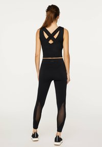 OYSHO_SPORT - Top - black - 2