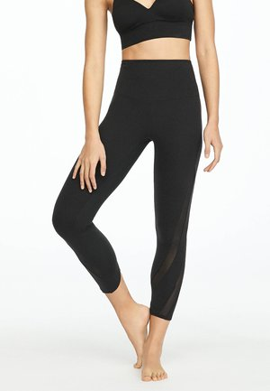 MIT SOFT-TOUCH - Leggings - black