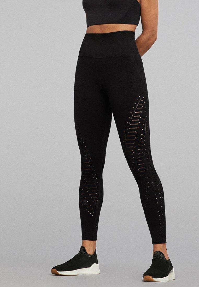 OYSHO_SPORT - Leggings - black