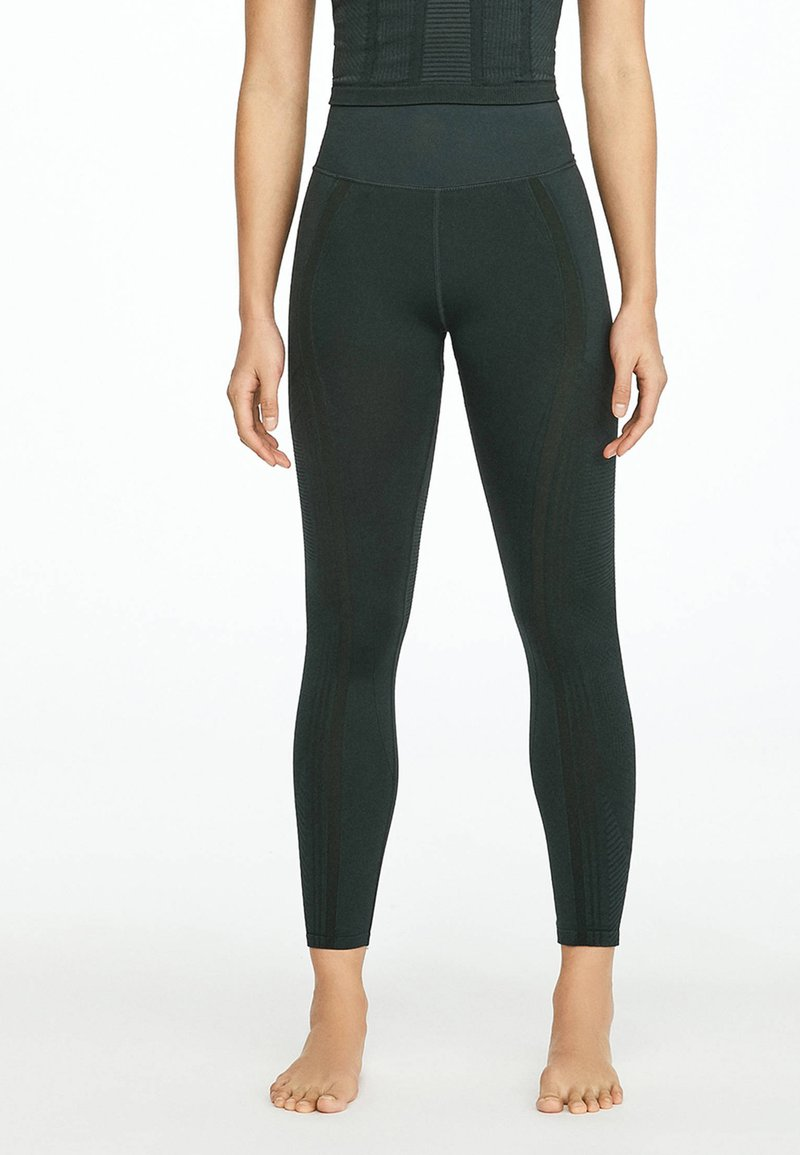 OYSHO_SPORT - Collants - evergreen