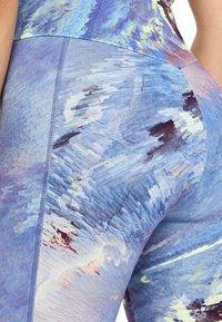 OYSHO_SPORT - Leggings - blue - 3