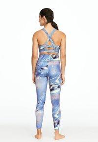 OYSHO_SPORT - Leggings - blue - 2