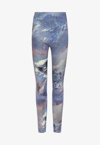 OYSHO_SPORT - Leggings - blue - 4