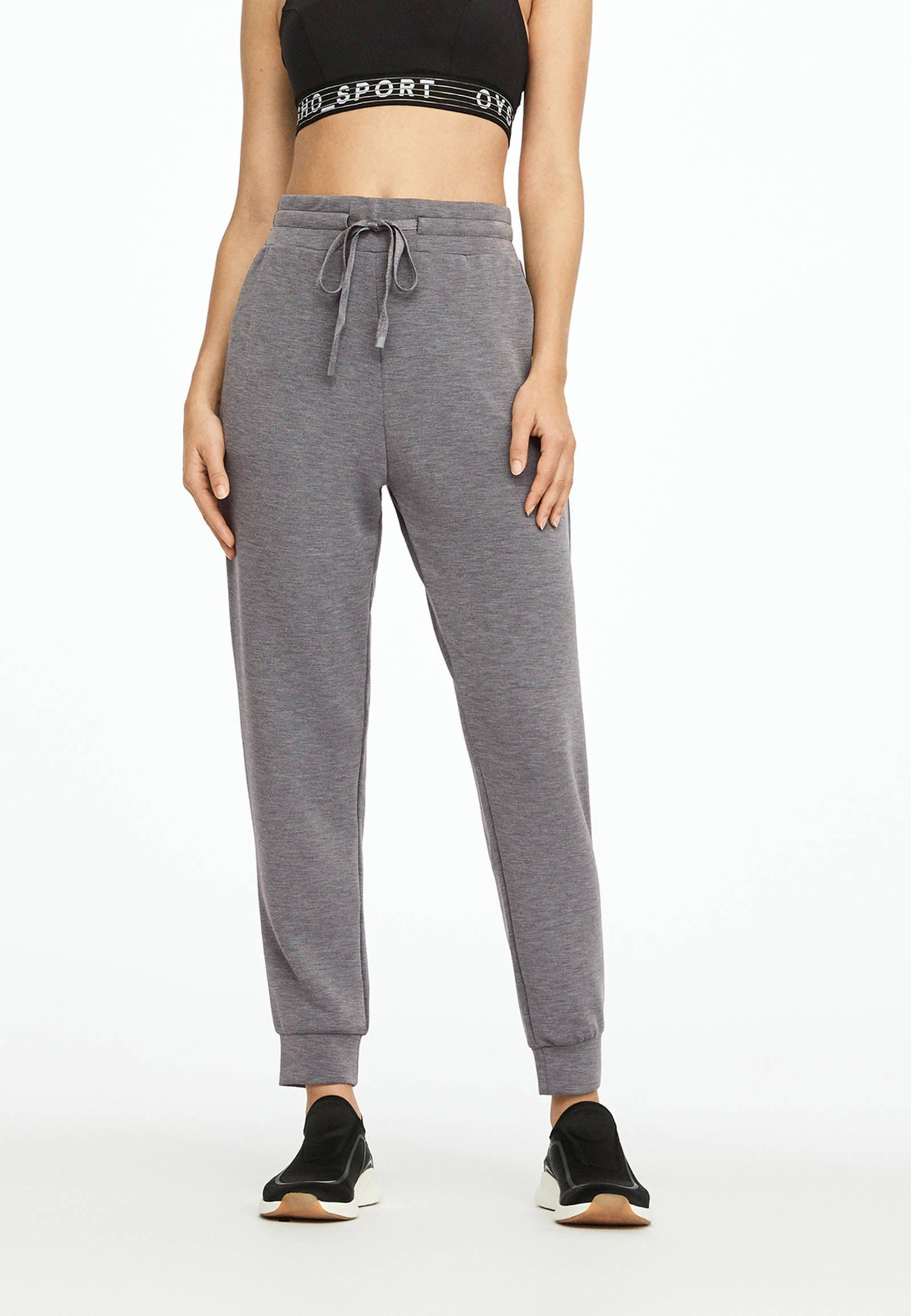 OYSHO_SPORT Spodnie treningowe - grey