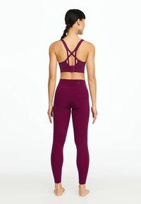 OYSHO_SPORT - Leggings - dark purple - 1