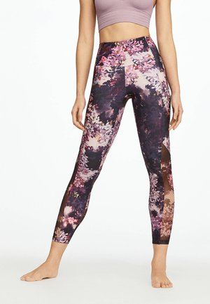 Legging - dark purple