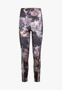 OYSHO_SPORT - Leggings - dark purple - 6
