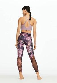 OYSHO_SPORT - Leggings - dark purple - 2