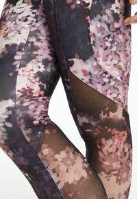 OYSHO_SPORT - Leggings - dark purple - 3