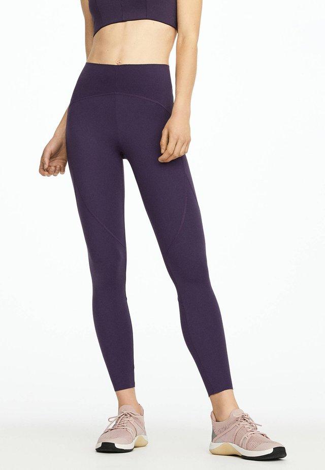 Legginsy - dark purple