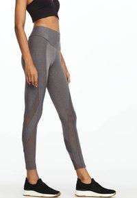 OYSHO_SPORT - Leggings - light grey - 3