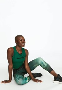 OYSHO_SPORT - Leggings - green - 3