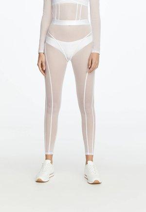 LEGGINGS AUS TÜLL 31217251 - Legging - white