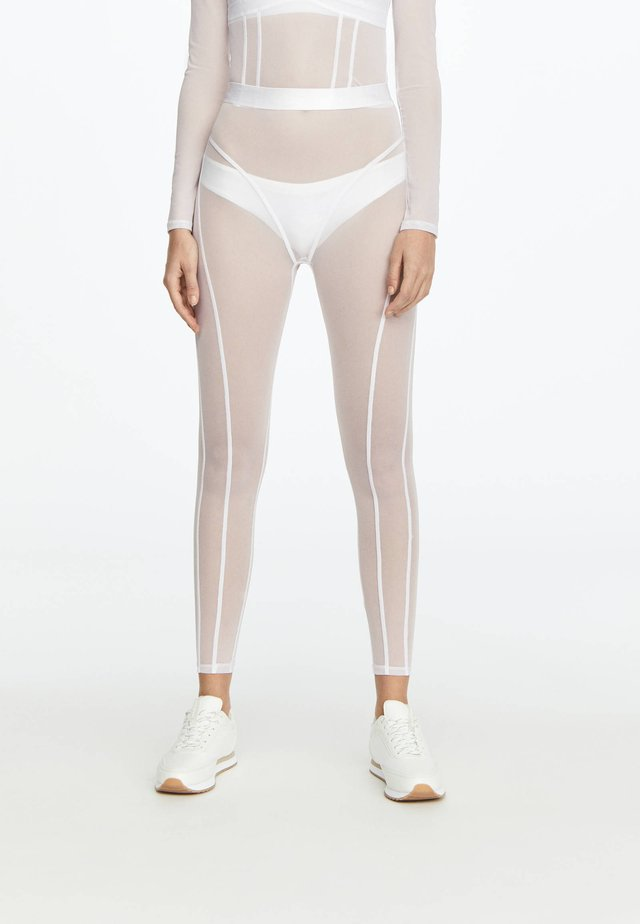 LEGGINGS AUS TÜLL 31217251 - Collants - white