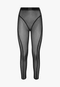 OYSHO_SPORT - LEGGINGS AUS TÜLL 31217251 - Legging - black - 6