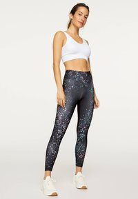OYSHO_SPORT - Legging - black - 2