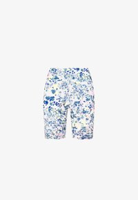 OYSHO_SPORT - FLORAL PRINT  - Tights - blue - 5
