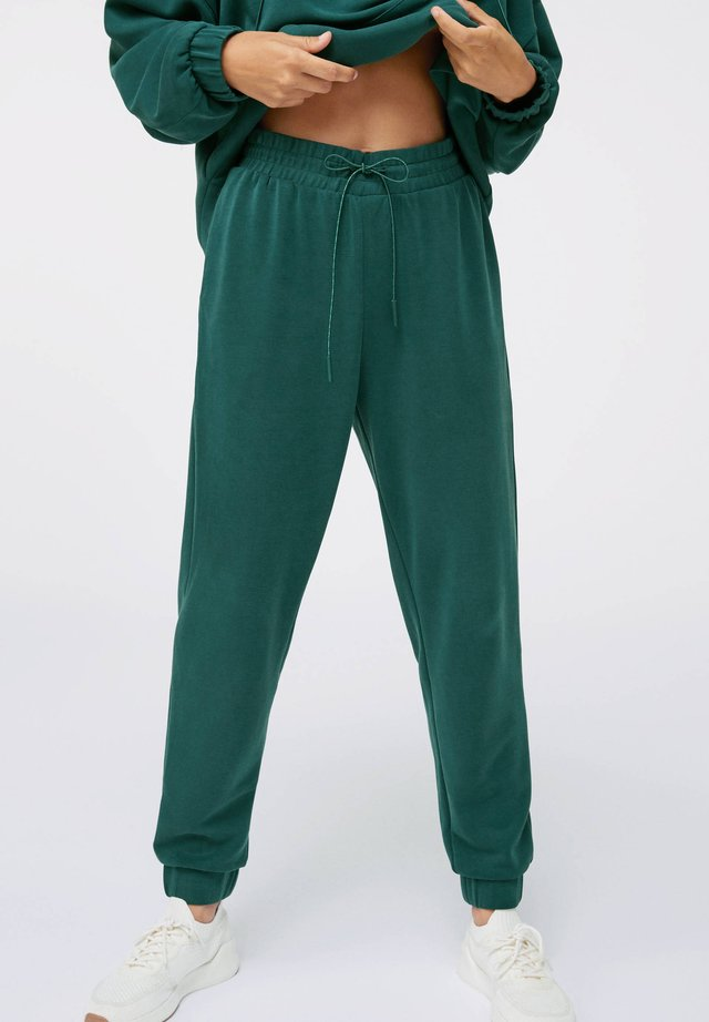 MODAL - Tracksuit bottoms - evergreen