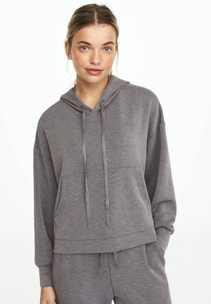 Bluza z kapturem - light grey