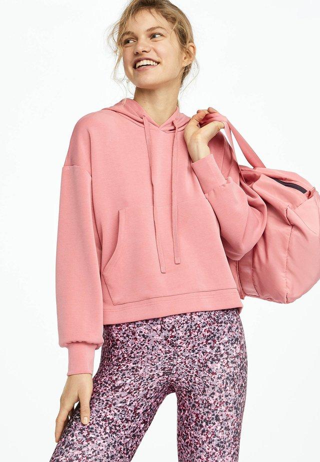 Bluza z kapturem - rose