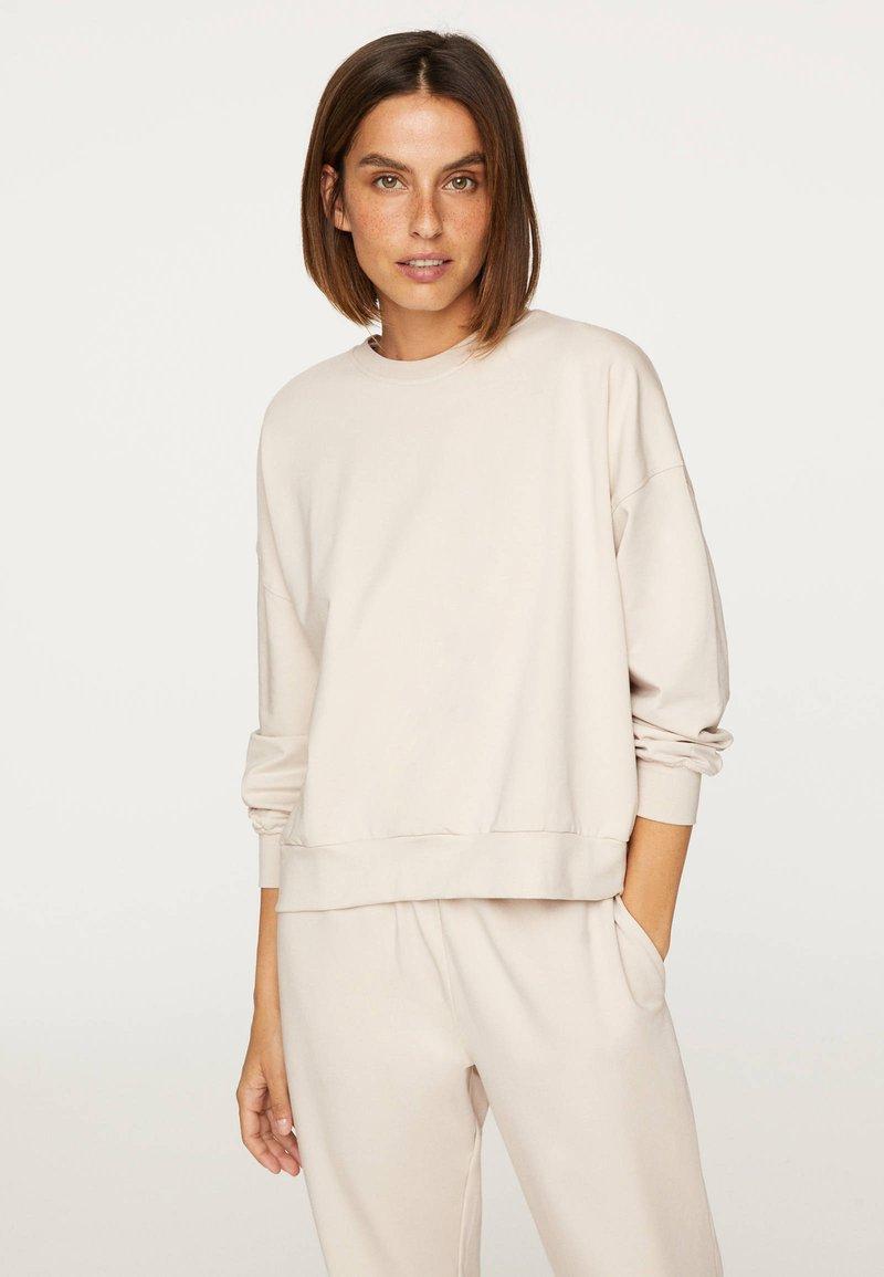 OYSHO_SPORT - Sweatshirt - beige