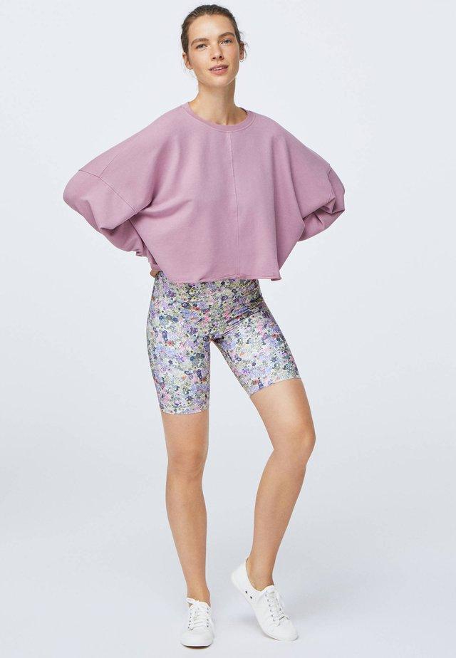 CROPPED - Sweatshirt - rose