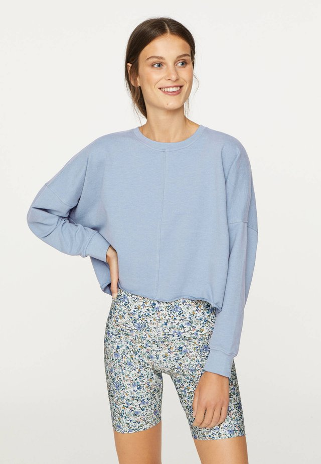 CROPPED - Sweater - light blue
