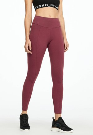 Leggings - bordeaux