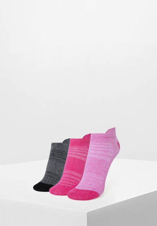 3PACK - Trainer socks - rose