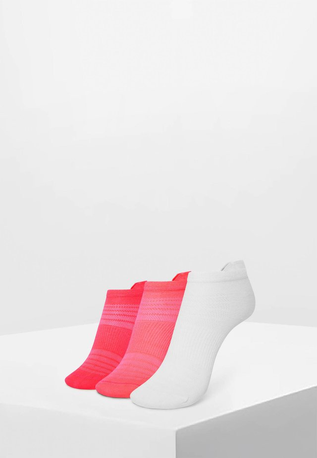 3PACK - Varrettomat sukat - neon pink