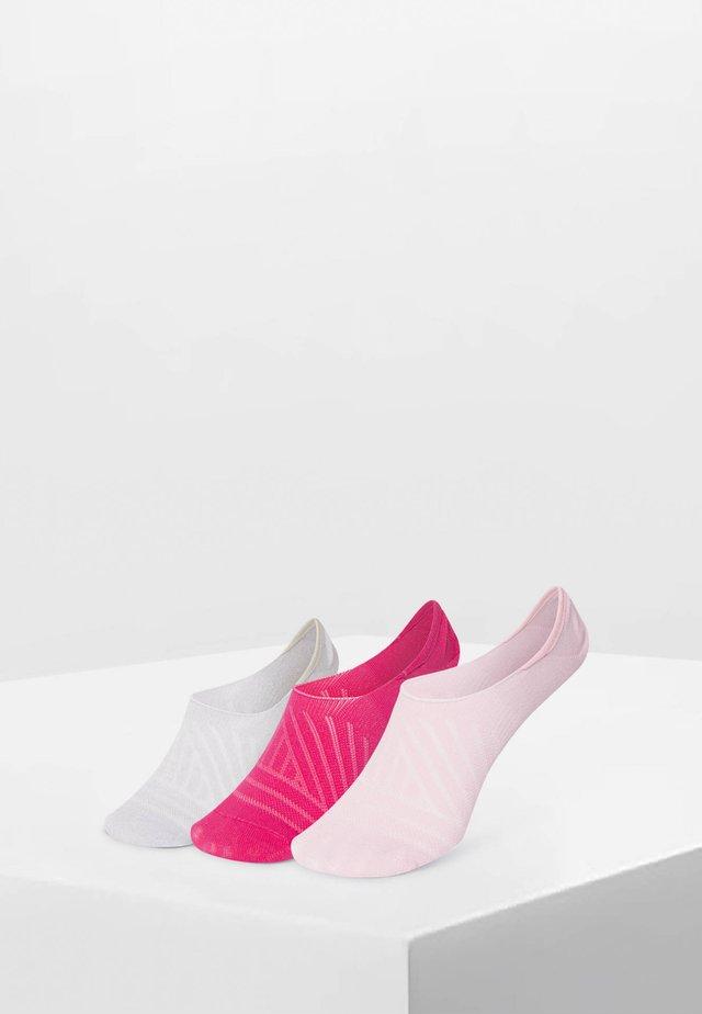 3 PAAR SPORTFÜSSLINGE 32760490 - Trainer socks - rose