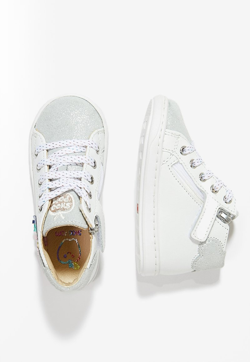 Shoo Pom - BOUBA CLOUD - Baby shoes - white/multi/metal