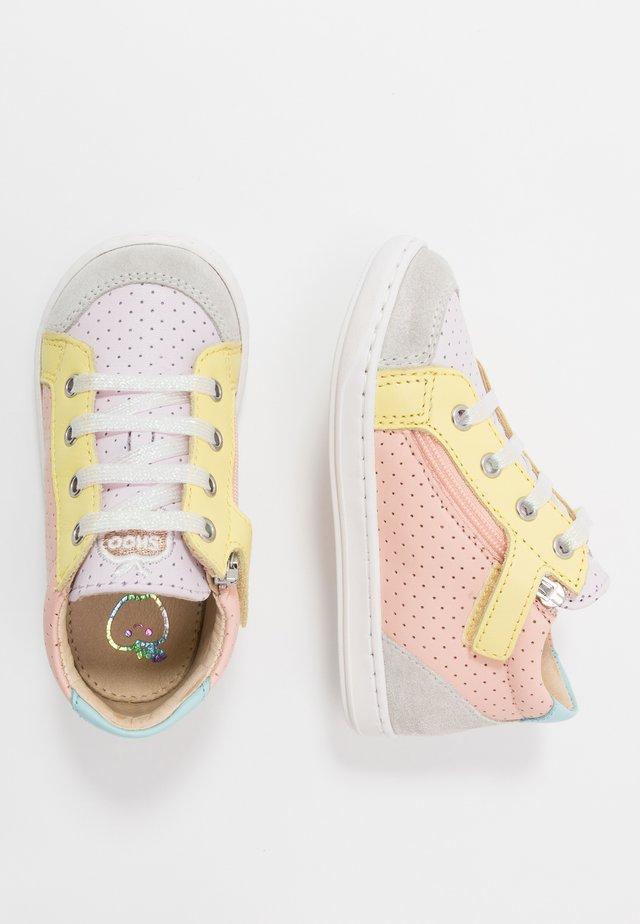 BOUBA - Lær-at-gå-sko - multicolor/pastel