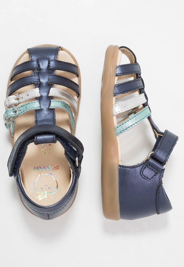 PIKA SPART - Sandaler - navy/opal/silver