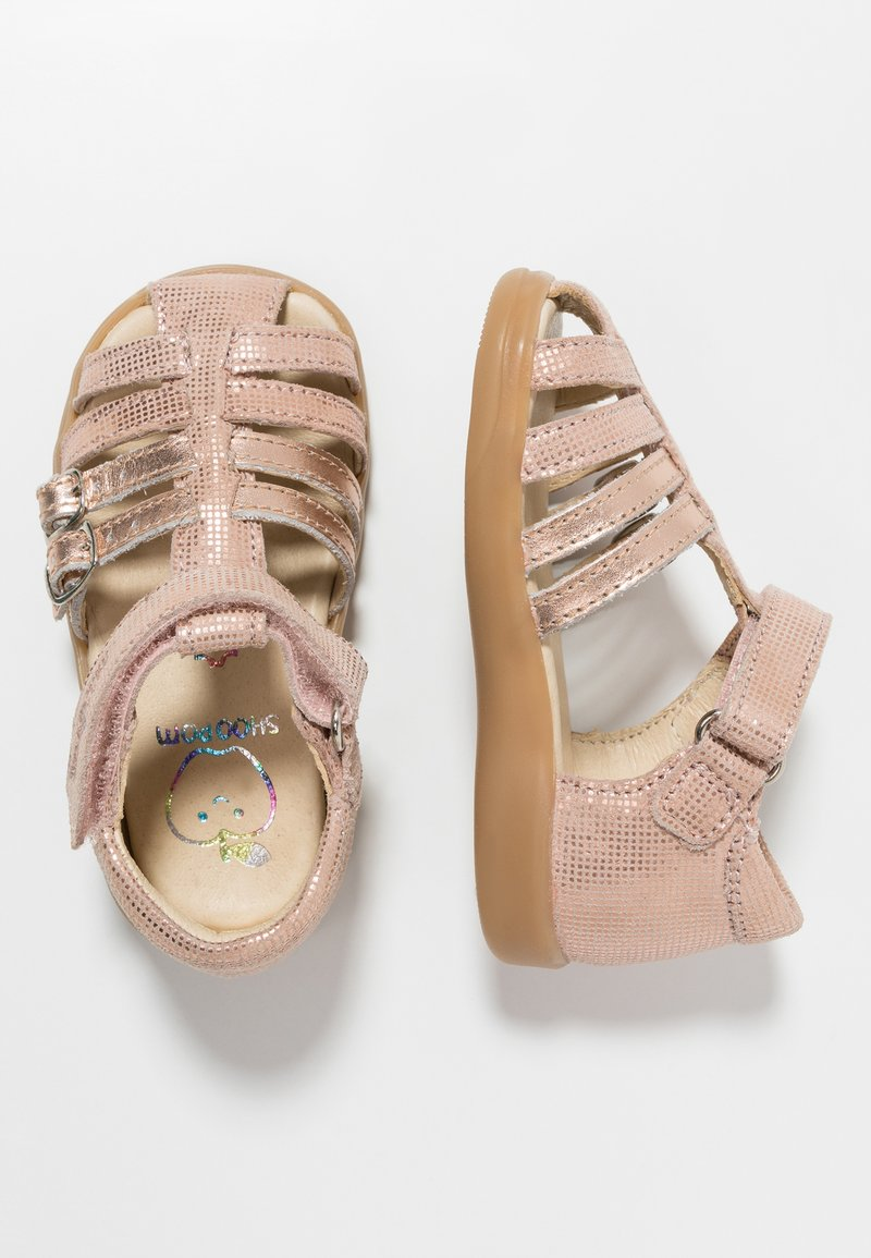 Shoo Pom - PIKA SPART - Baby shoes - nude/cooper