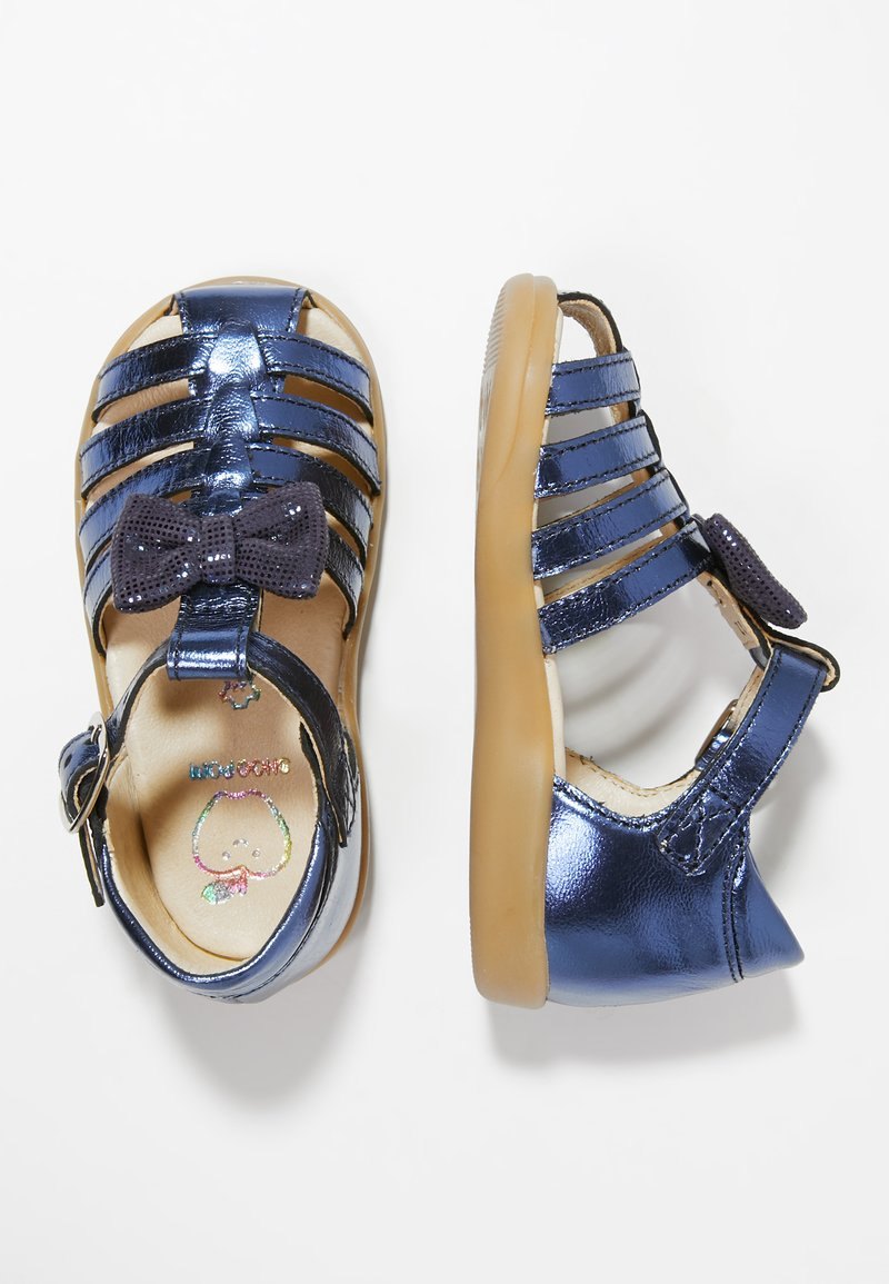 Shoo Pom - PIKA SPART KNOT - Baby shoes - navy