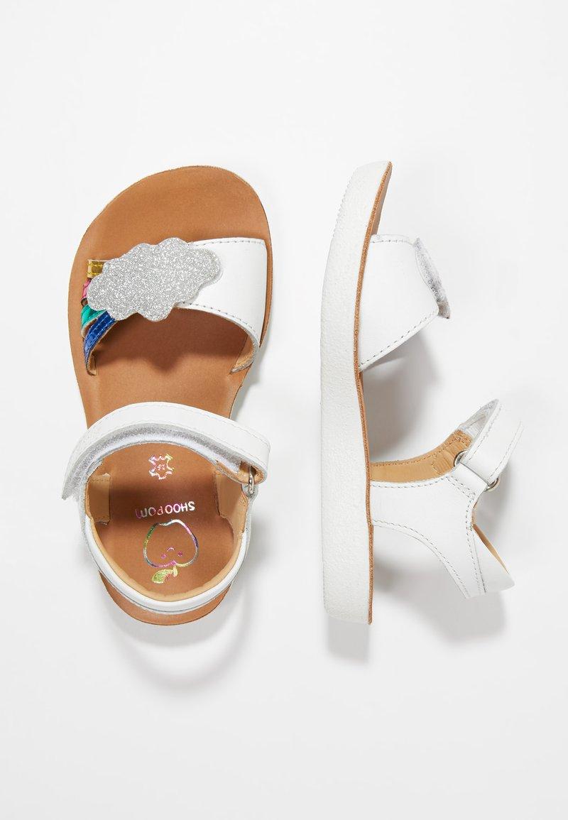 Shoo Pom - GOA - Sandals - white/multicolors