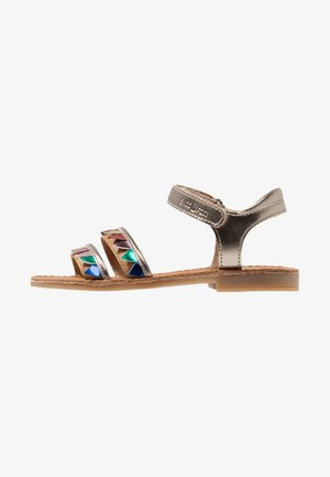 HAPPY FLAG - Sandals - bronze/multicolor