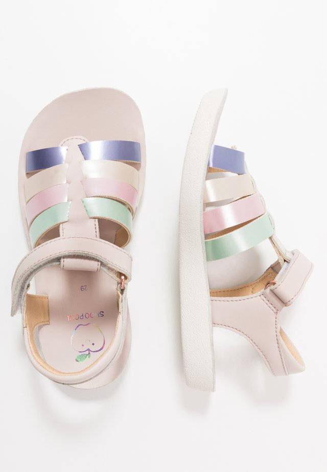 GOA SPART  - Sandals - nude/multicolor/pastel