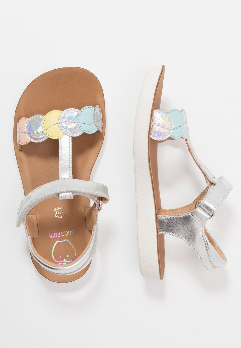 Shoo Pom - GOA DOTS - Sandalias - silver/multicolor