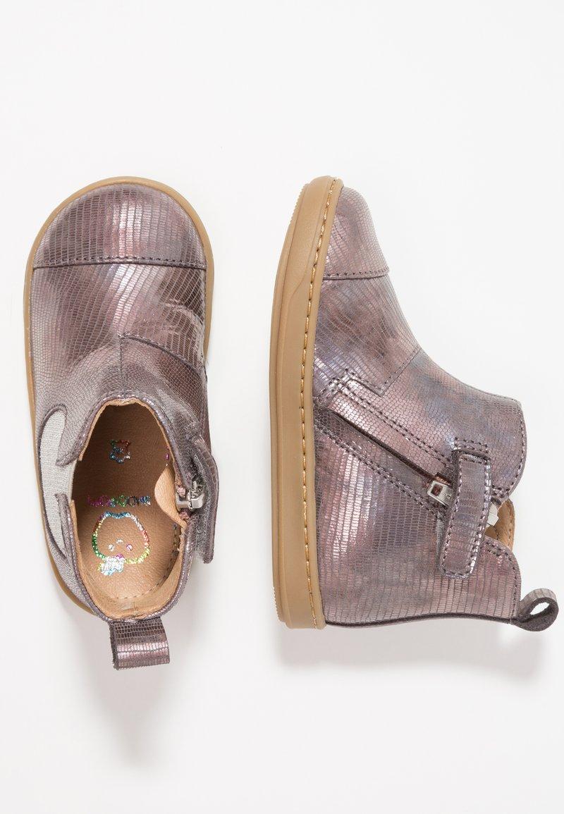 Shoo Pom - BOUBA APPLE - Baby shoes - multicolor/silver