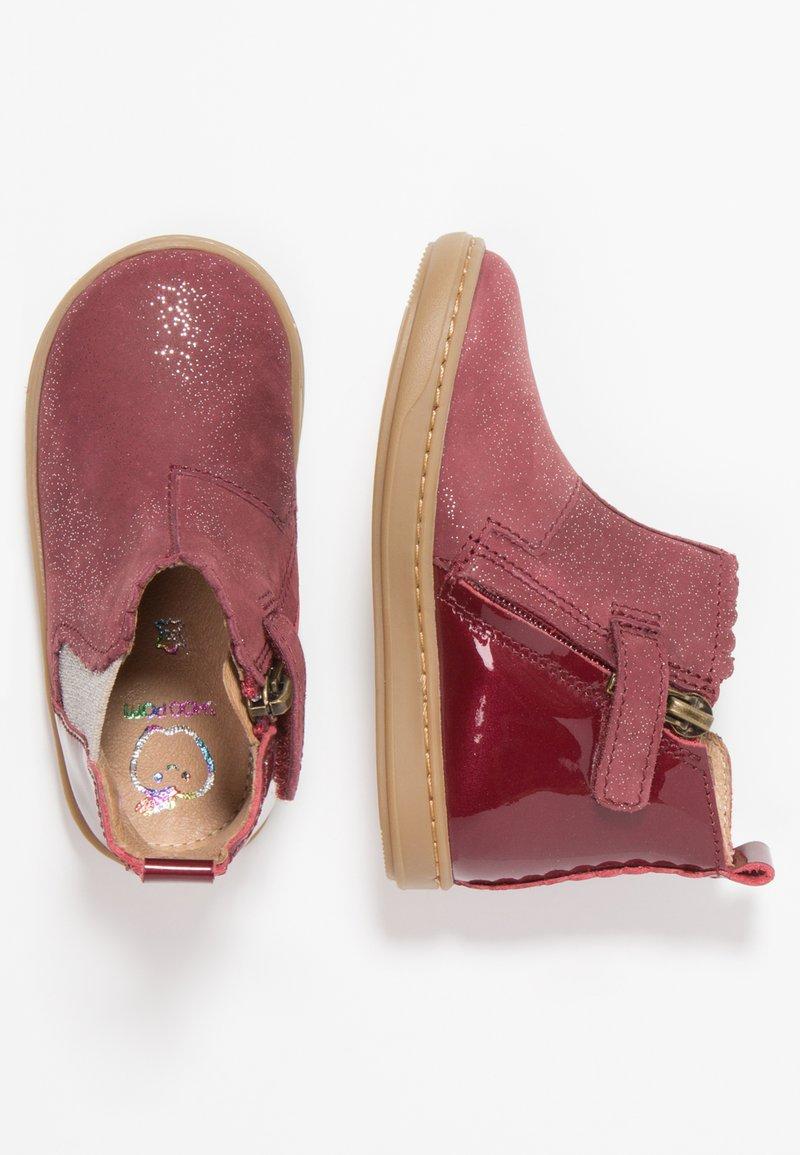 Shoo Pom - BOUBA JODZIP - Baby shoes - berry