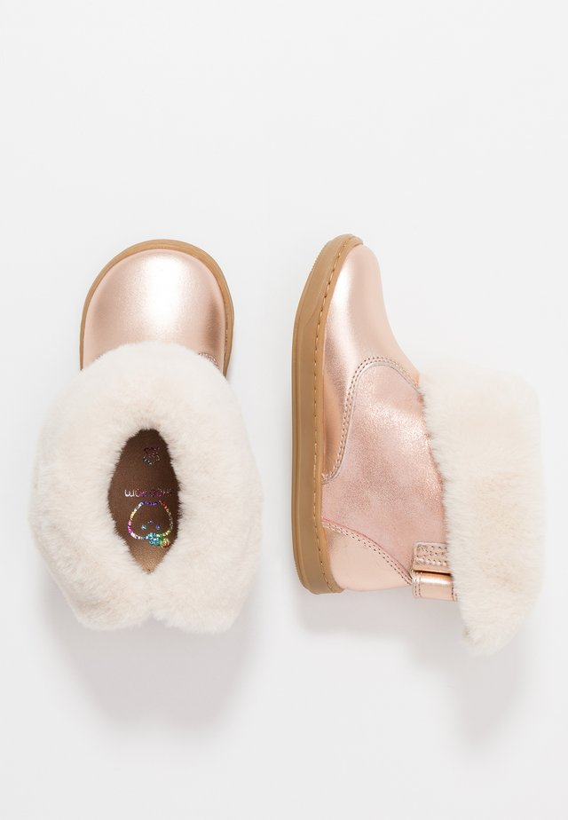BOUBA BOOTS - Stiefelette - cooper/beige
