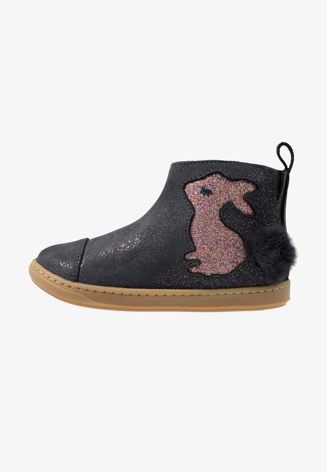 BOUBA PIMPIN - Classic ankle boots - galaxy/glitter navy