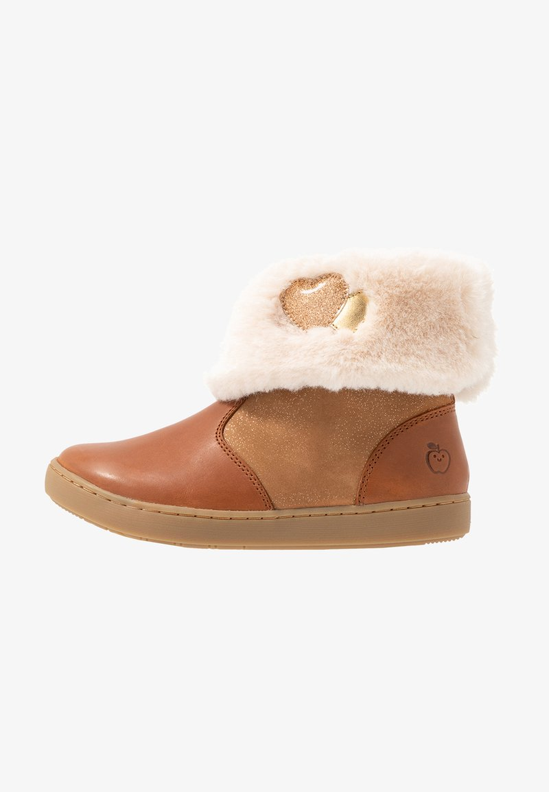 Shoo Pom - PLAY HEART - Classic ankle boots - clear brown/gold
