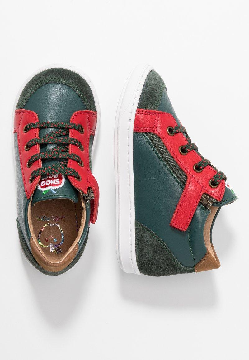 Shoo Pom - BOUBA ZIP BOX - Baby shoes - pin/red