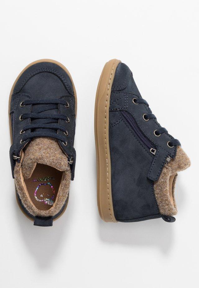 BOUBA ZIP - Vauvan kengät - navy/taupe
