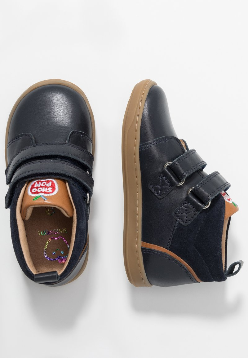 Shoo Pom - BOUBA BOY - Baby shoes - navy/camel