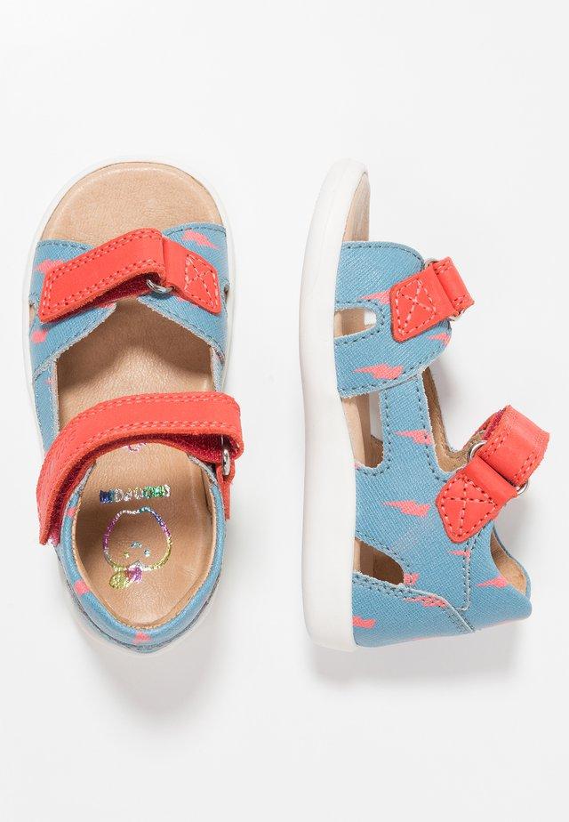 PIKA  - Vauvan kengät - jeans/orange